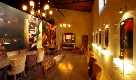 Tasting room at Van Ryn Brandy Distillery, Stellenbosch