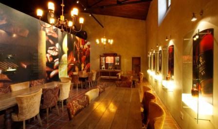 Tasting room at Van Ryn Brandy Distillery, Stellenbosch
