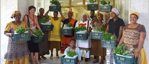 Harvest of Hope, Volunteer in Cape Town