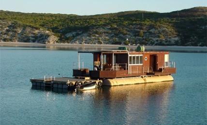 Larus Houseboat at West Coast National Park