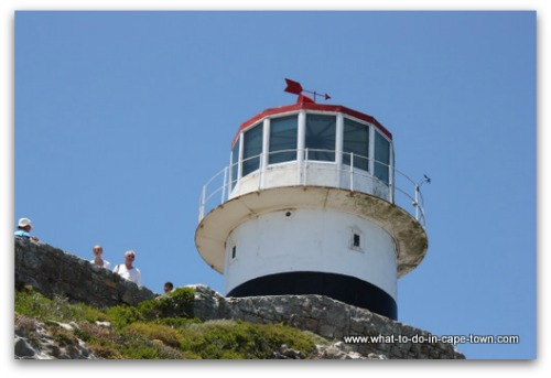 Cape Town Lighthouses - Old Lighthouse at Cape Point Nature Reserve