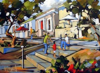 Street Scene, Carla Bosch Art