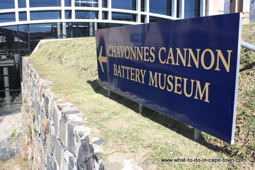 Entrance to The Chavonnes Battery Museum