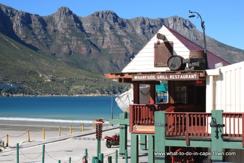 Day two in Cape Town - Mariner's Wharf in Hout Bay