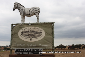 Clara Anna Fontein Private Game Reserve and Country Lodge
