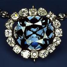 Replica of The Hope Diamond at The Cape Town Diamond Museum