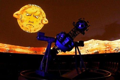 Childrens Show at Iziko Planetarium, Cape Town