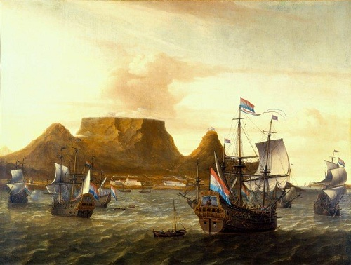 The painting Cape Town in 1863 by Aernout Smit, William Fehr Collection, The Castle of Good Hope
