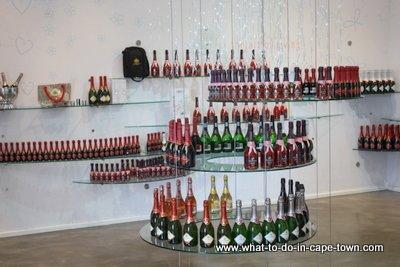 Sparkling wine for sale at JC le Roux.