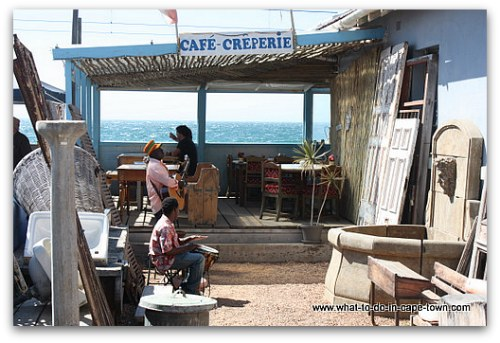Cafe Creperie in Kalk Bay, Cape Town