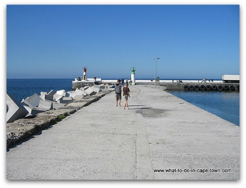 Kalk Bay Harbour Wall, Cape Town