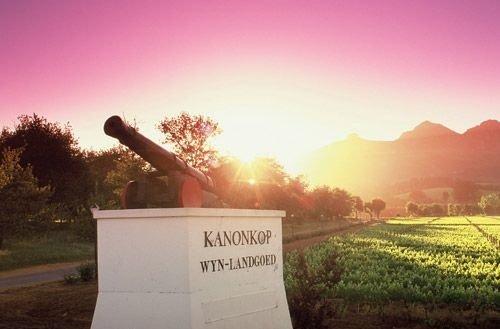 Entrance to Kanonkop Wine Estate