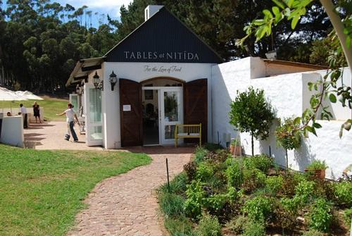 Tables at Nitida Wine Estate, Durbanville Wine Route