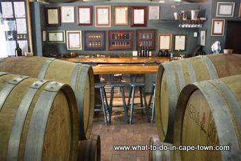 Tasting Room at Nitida Wine Estate, Durbanville Wine Route