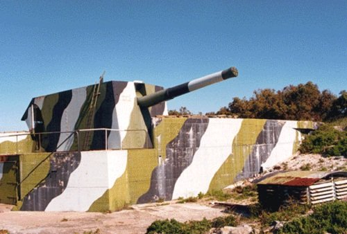 WWii Battery on Robben Island, Cape Town