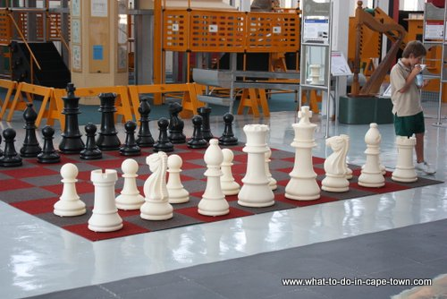 Chess set, Cape Town Science Centre