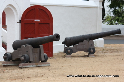 Signalling Cannon of the V.O.C Kruithuis, Stellenbosch
