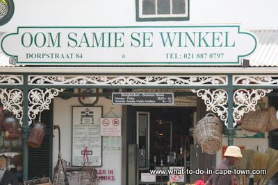 Oom Samie se Winkel, The Stellenbosch Wine Route