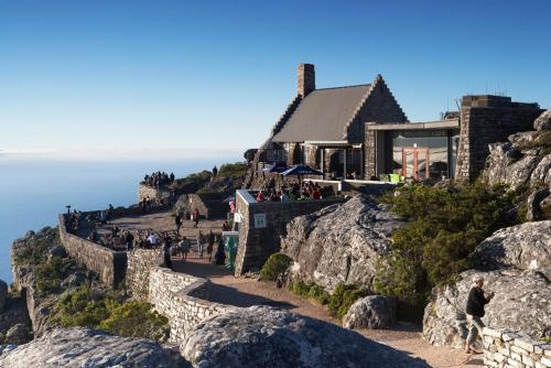 The shop on top of Table Mountain, Cape Town