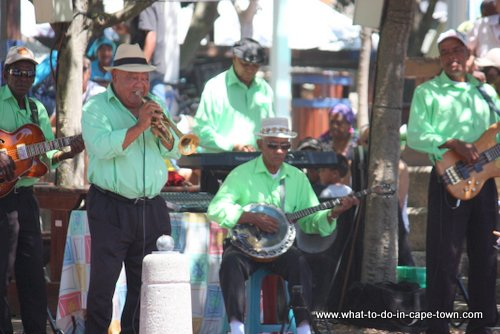 Buskers at V&A Waterfront, Cape Town