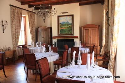 Beyers Room, Herenhuis Restaurant, Zorgvliet Wine Estate, Stellenbosch Wine Estate, Cape Town