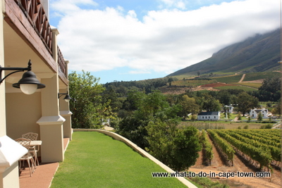 Zorgvliet Lodge, Zorgvliet Wine Estate, Stellenbosch Wine Estate, Cape Town