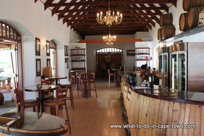 Wine Tasting Centre, Zorgvliet Wine Estate, Stellenbosch Wine Estate, Cape Town